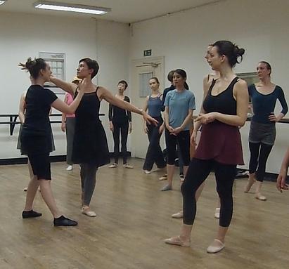 Holistic Ballet class at Danceworks London
