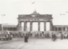 Brandenburg Gate with The Wall