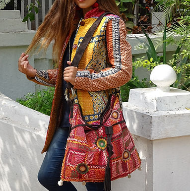 Lambanis Bag Big Double Embroidery