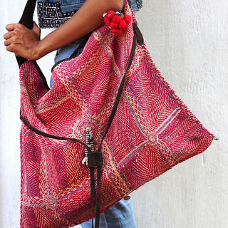 Lambanis Bag Big Doudle Embroidery