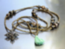 Silver Sandalwood Mala, a perfume of spiritual cleansing