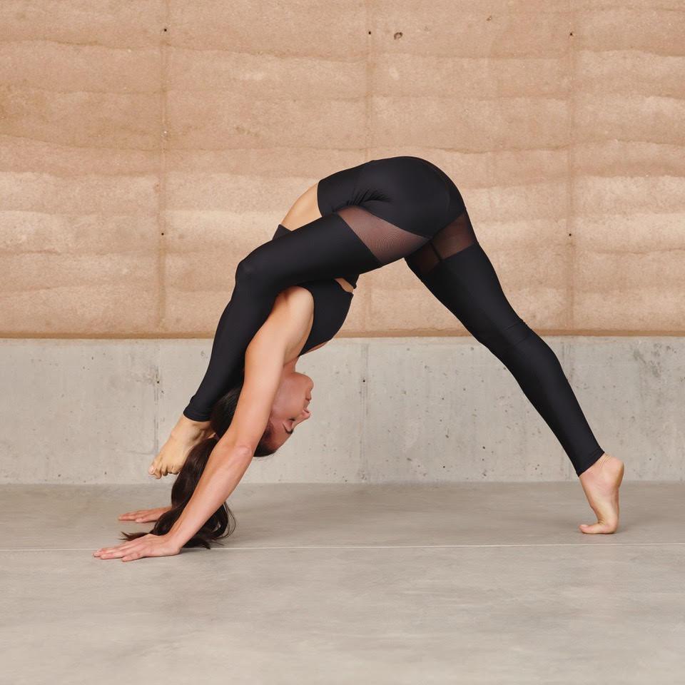 Aubry Marie at NOMADIC Yoga Festival
