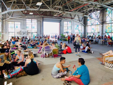 NOMADIC Yoga festival