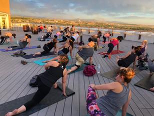 Rooftop Yoga by YogaZo