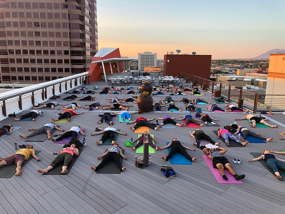 YogaZo Rooftop Classes
