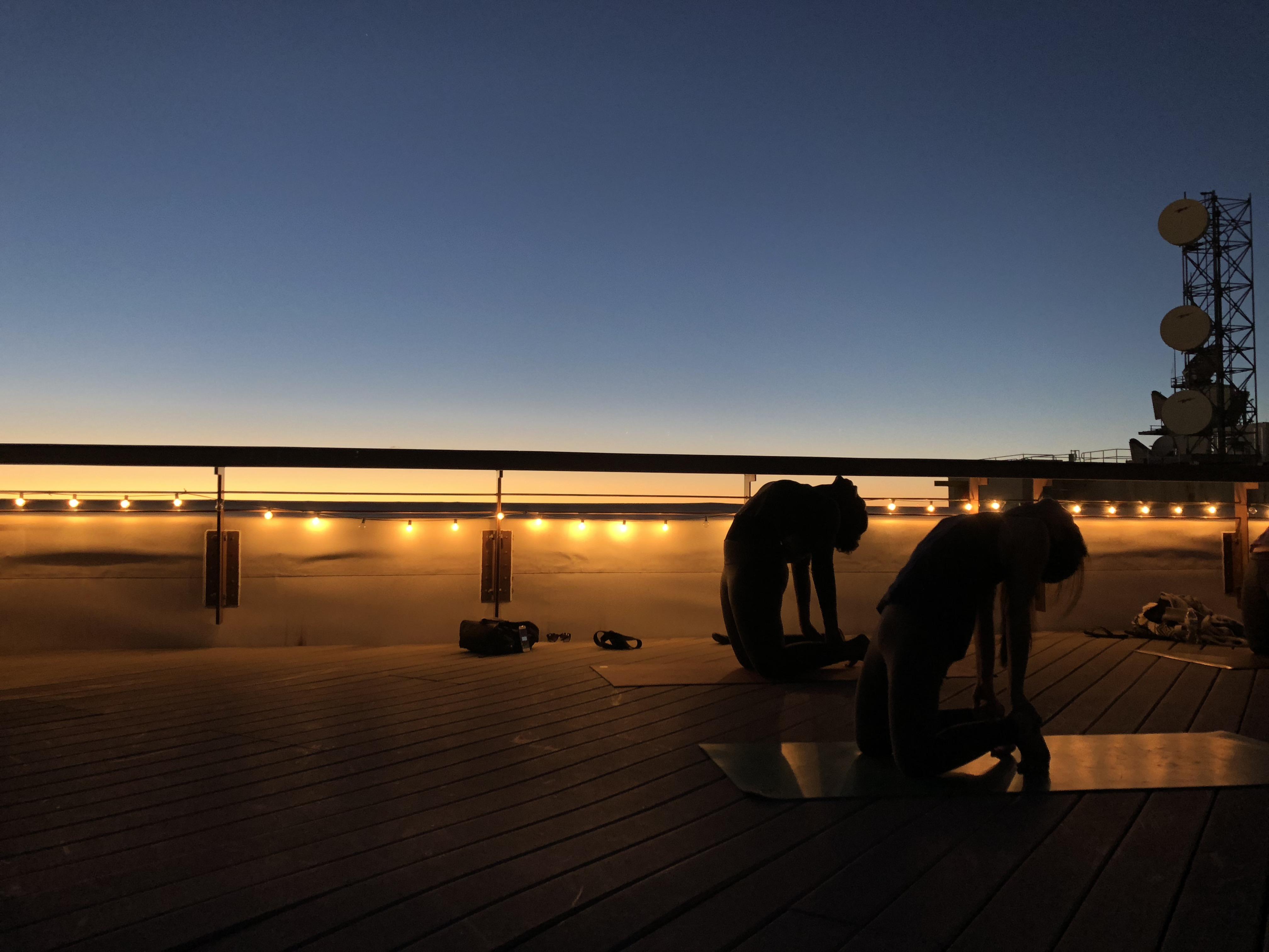 YogaZo Rooftop Yoga