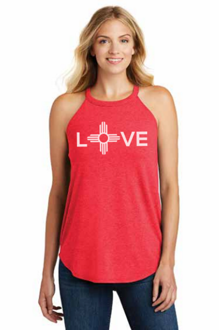 Limited Edition Holiday LOVE Hi-Neck Tank