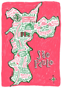 Mapas Ilustrados do Brasil
