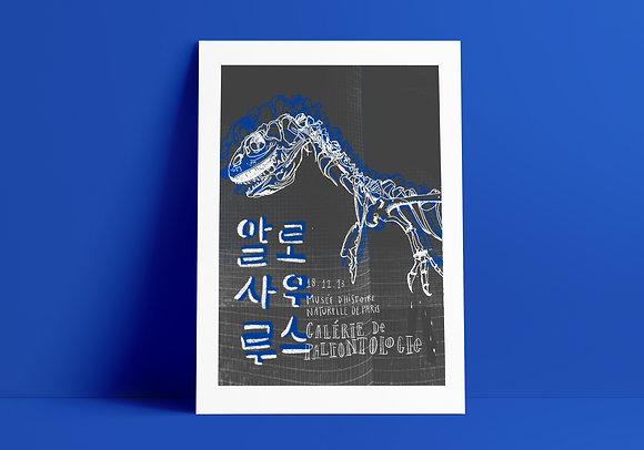 Poster Alossauro // A3