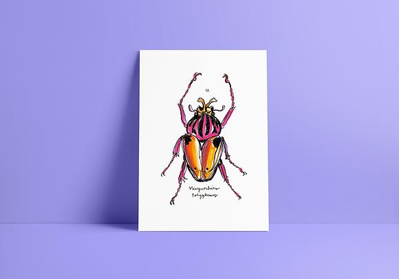Print Besouro Goliat - A5