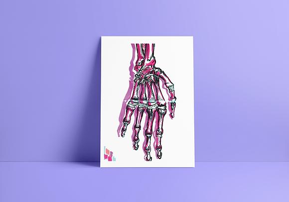 Print Mão - A5