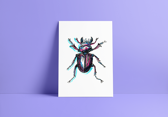 Print Besouro - A5