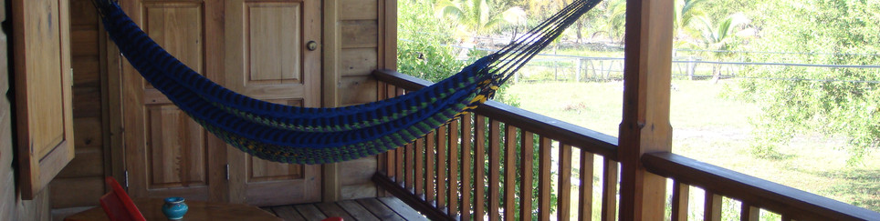 4. relax in the hammock or rocking chair