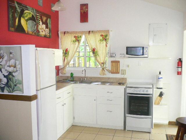 Kitchen View Casita