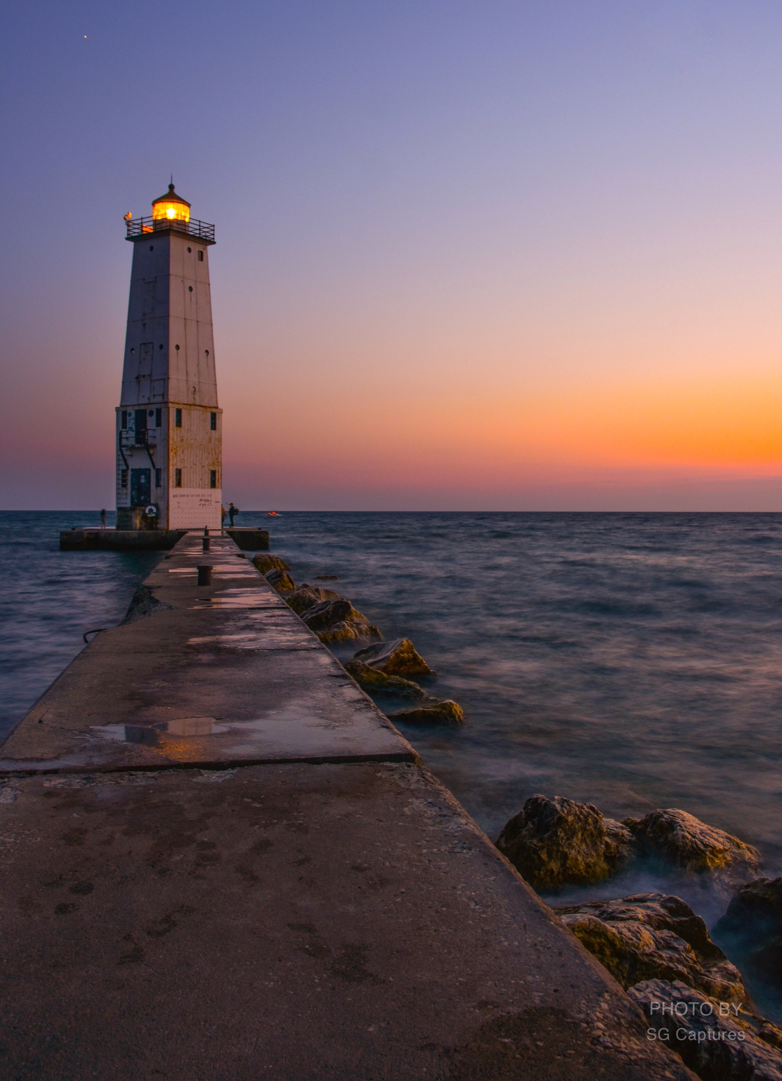 Lighthouse Afterglow...