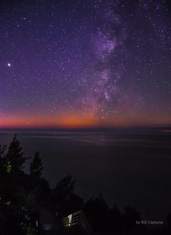 Milky Way on the Bluff