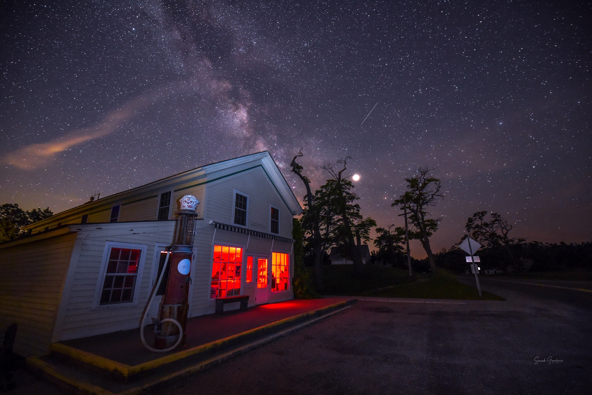Old General Store Under The Stars