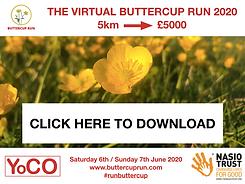 Buttercup Run 2020 - Race Bib