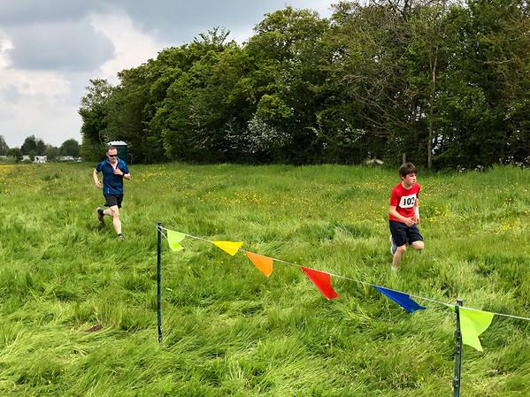 Running through Buttercup Fields