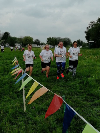 The YoCO Blackbird Leys group at the 2019 Buttercup Run