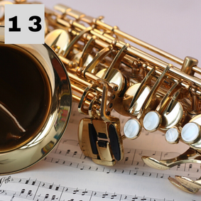 Music Lesson - Saxophone, Clarinet or Flute