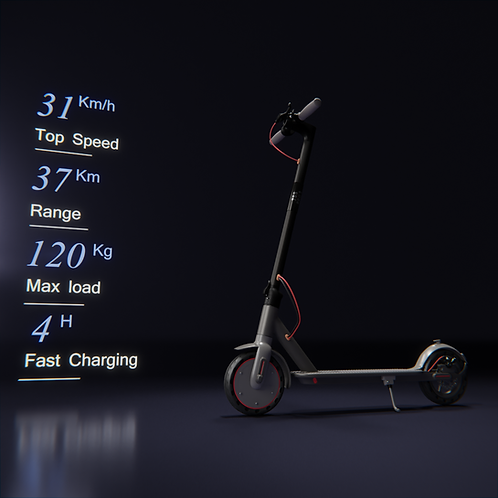 NEW 7SS AOVO PRO 2 31KM/H ELECTRIC SCOOTER, WATERPROOF WITH APP CONTROL