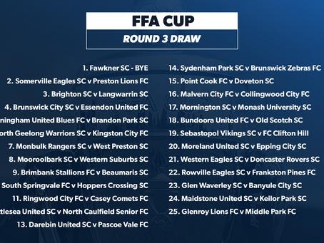 FFA Cup Round 3 Draw