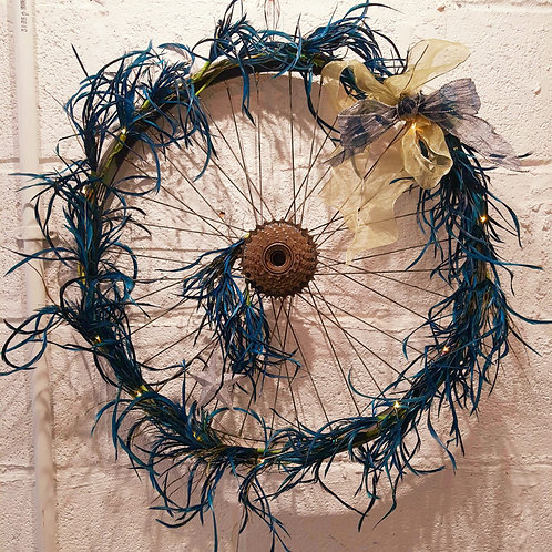 Up'cycled' Christmas Wreath