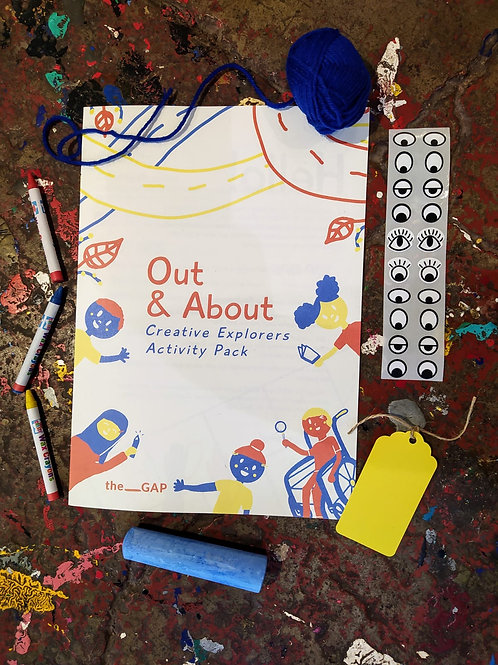 'Out & About' Creative Explorers Activity Pack