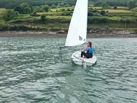 Some Lovely Sailing Demonstrations by Instructor Kate this week