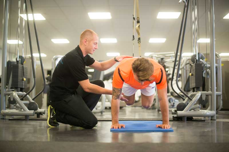 Trx travail en suspention