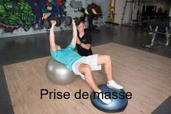 Prise de masse musculaire.