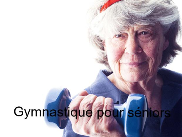 Gymnastique pour séniors.