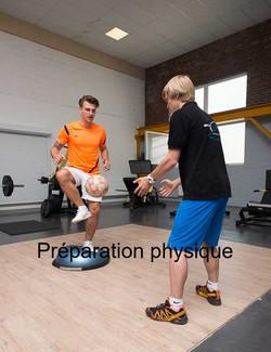 Préparation physique spécifique.
