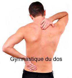 Gymnastique du dos.