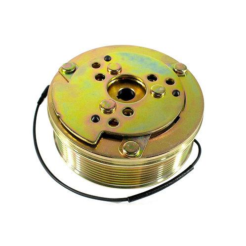 Conjunto embreagem para compressor 5H14 Polia 8pk 12v