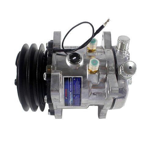 Compressor Sanden 5h11 2A 12v Saida Vert (imp)