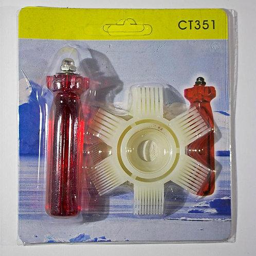 Pente Aletas Plásticos Condensador