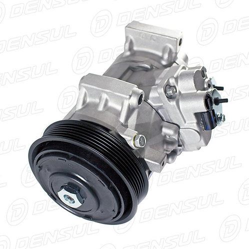 Compressor 6SEU14 Toyota Corolla 2013> motor 2.0 Polia 6PK 12V c/ 2 sensores