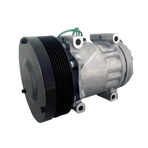 Compressor 7h15 Caterpillar 4840 4 passantes 8Pk Polia 152mm 24v