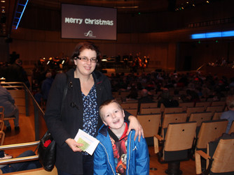 Accessible concert venue is music to mum's ears