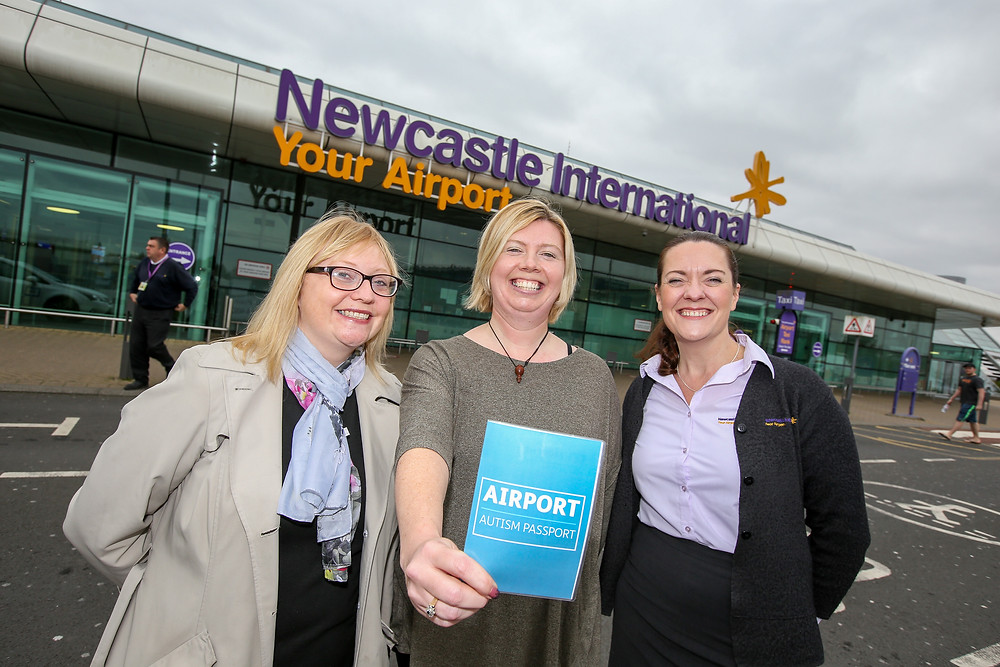 Newcastle Airport  - launch of ANDA