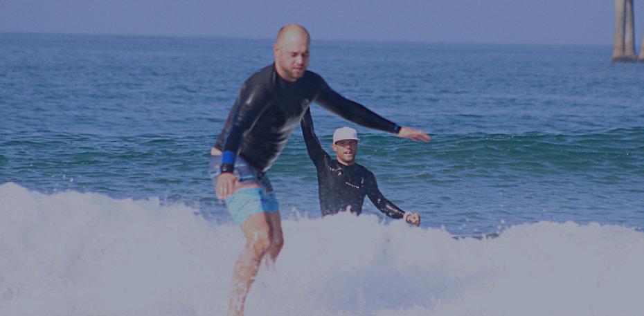 Private surf lesson in venice beach, Los Angeles
