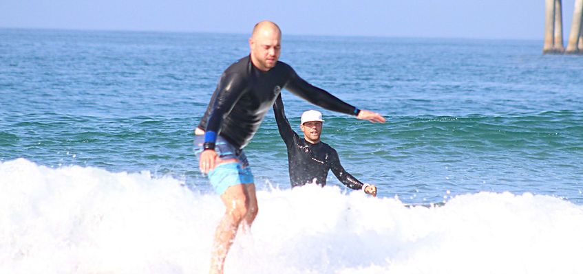 Private surf lesson in Vence Beach, Los Angeles