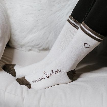 Sister Ladies Crew Socks