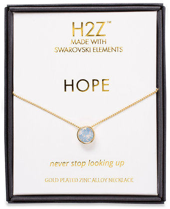 Hope Air Blue Opal Necklace