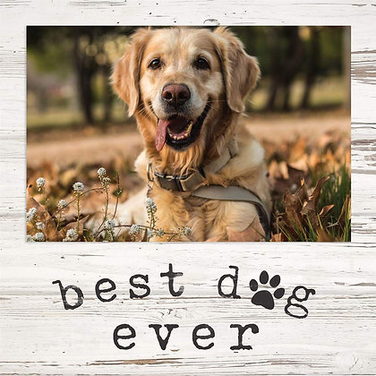 Best Dog Ever Photo Frame
