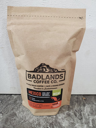 Badlands Coffee - Mexico Organic Decaf
