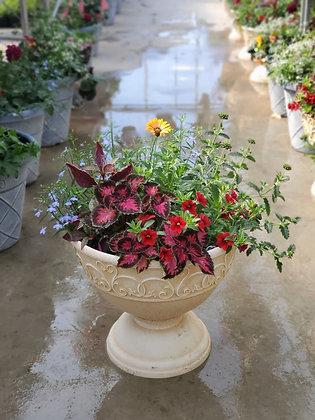Susanna Cream Urn Planter