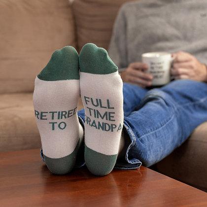 Full Time Grandpa Socks